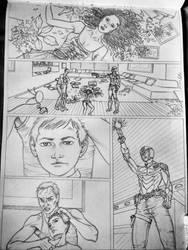 Judge Dredd : Cycle of Violence by dsamrat503