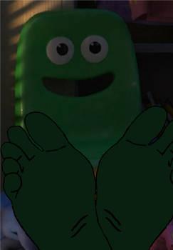 Green Chair's Feet (2)