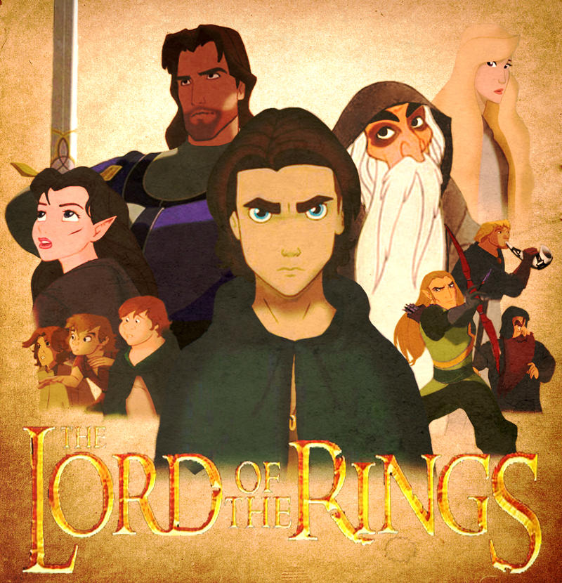 Lord of the Rings... Kinda. by TheNamelessDoll