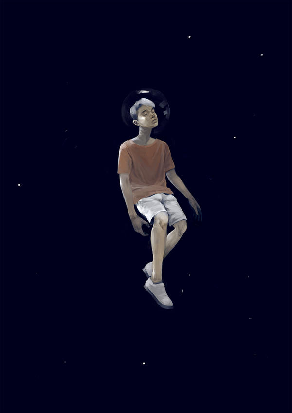 Space boy by N0tisme