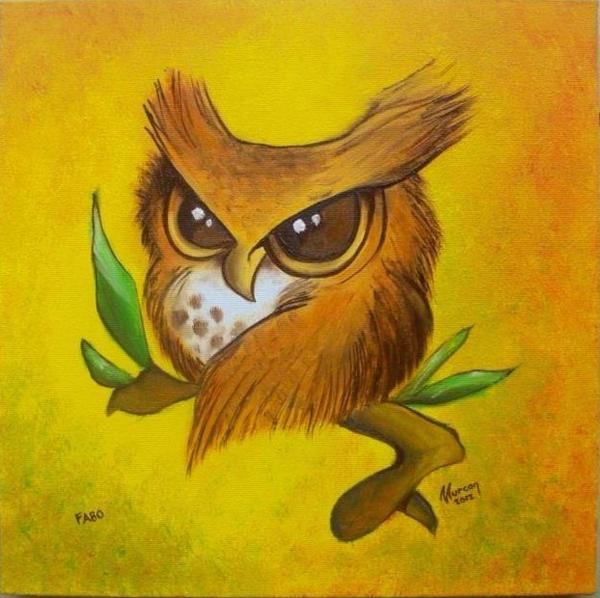 Baby Owl by karakafes