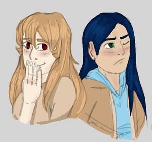 Shizuru and Natsuki