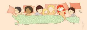 Sleeping Fringies