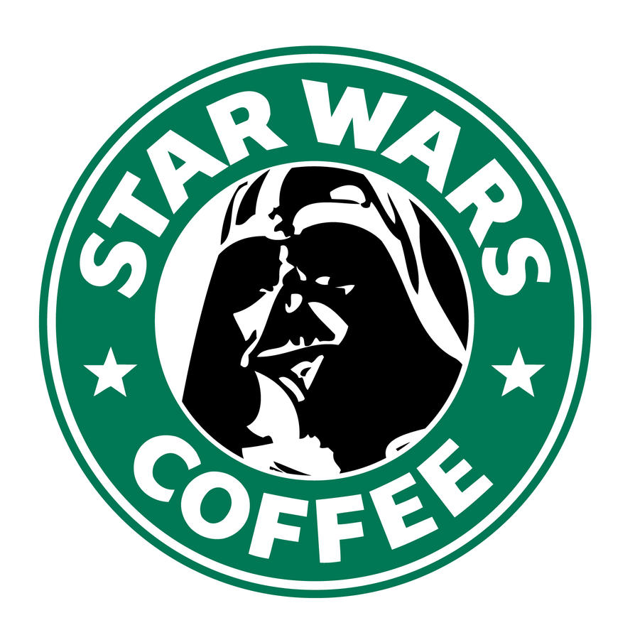 Starbucks Vader by theCrow65 on DeviantArt