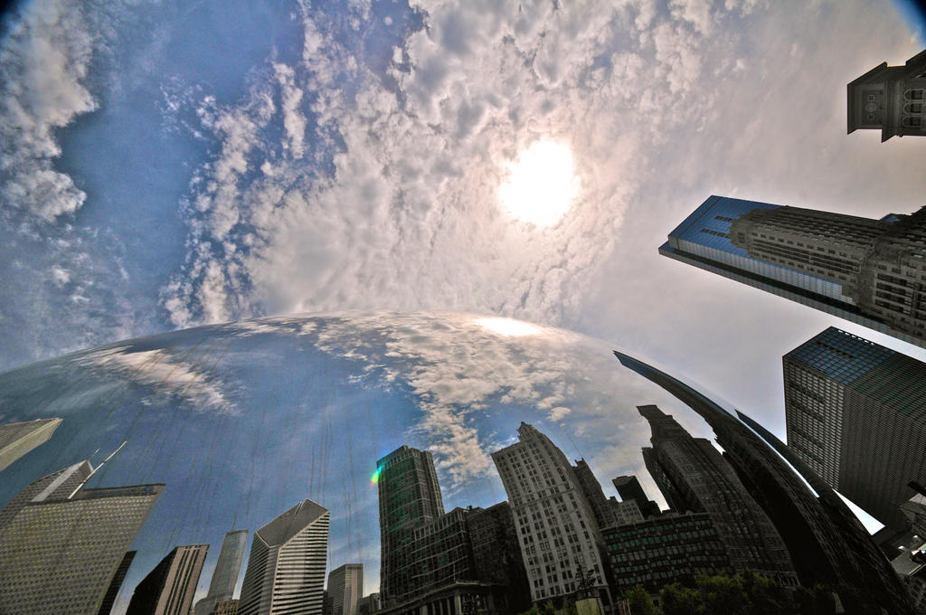 Cloud Gate II by theCrow65