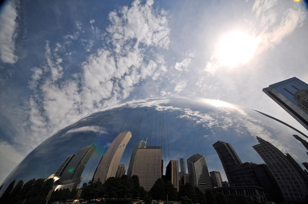 Cloud Gate III by theCrow65