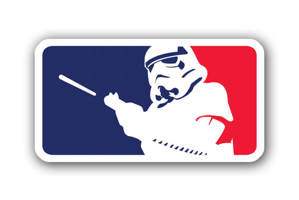 stormtrooper mlb logo parody by thecrow65 on deviantart rh deviantart com mlb logo vector art mlb logo vector free download