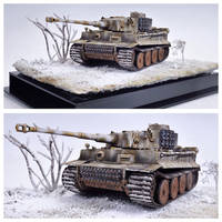 Tiger I in Winter Camo, 1:35, southern Russia 1944