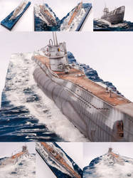 U-82 Surfacing