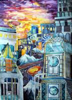 One town by AgniyaKabitova