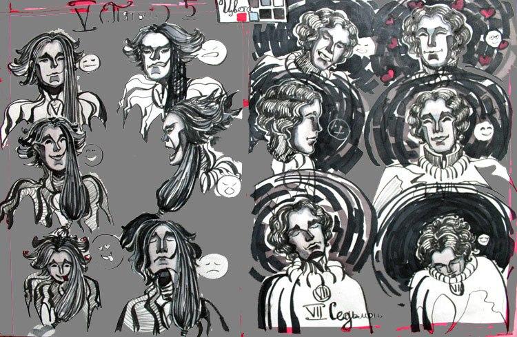 Emotions of my characters by AgniyaKabitova