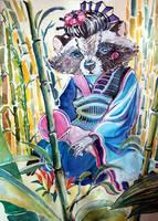 Racoon-chan by AgniyaKabitova