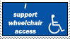 Wheelchair access by RandomGothSignatures