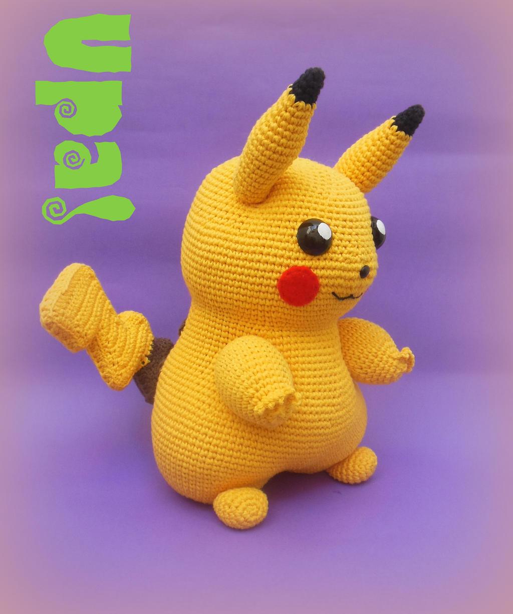 Pikachu Amigurumi by UpaMiGurrumin on DeviantArt