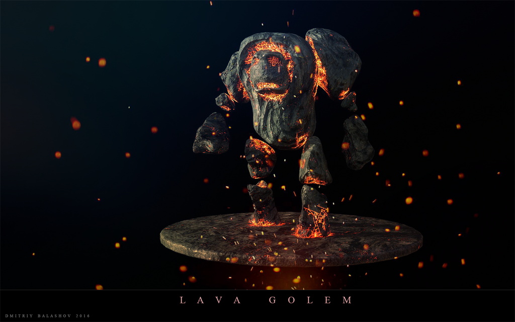 lava golem by mrnepa - photo #23