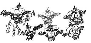 Cortex sketches