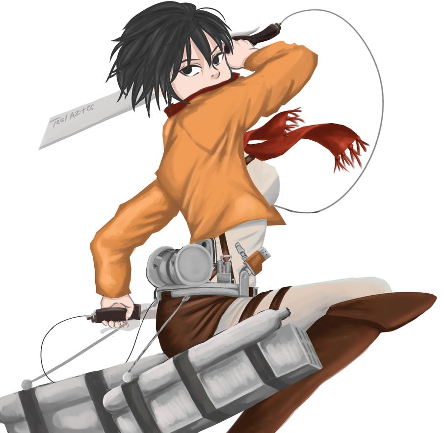 Mikasa by TealAztec