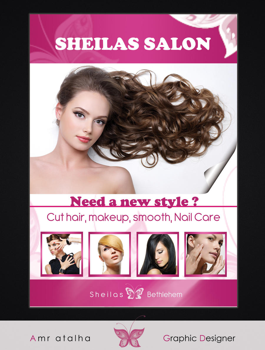 sheila's salon poster by amr-atallllah on DeviantArt