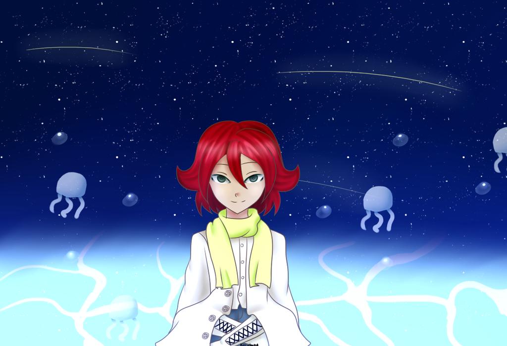 [Cross-Over] Stars and Jellyfish by KiriChan94