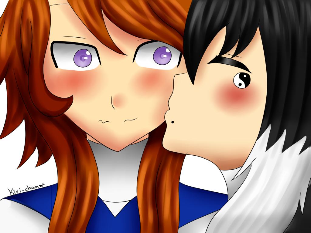 [Doodle] Yoshio and Leia by KiriChan94