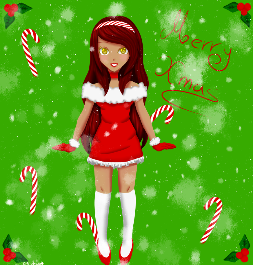 [Merry Xmas] Mary Kageyama by KiriChan94