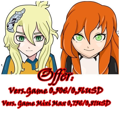 [Offer]Comision PayPal Vers. Game IE by KiriChan94