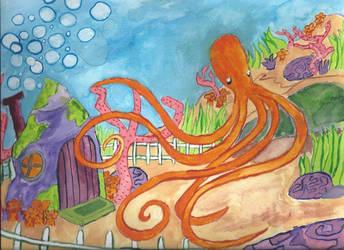 Octopus's Garden by SanaGale