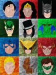 DC Heroes Minimalism