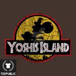 Yoshi's Island Graphic Tee Design