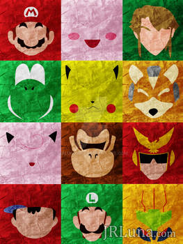 Super Smash Bros. Minimalism