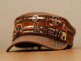 Steampunk hat V4