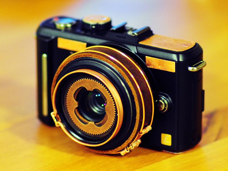 Steampunk camera V3 by yukosteel