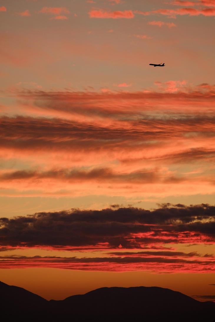 Lava Sky Flight by yukosteel