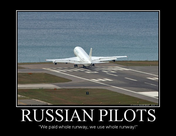 Russian Pilots Demotivational by Denodon