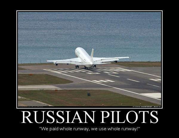 Russian Pilots Demotivational by Denodon