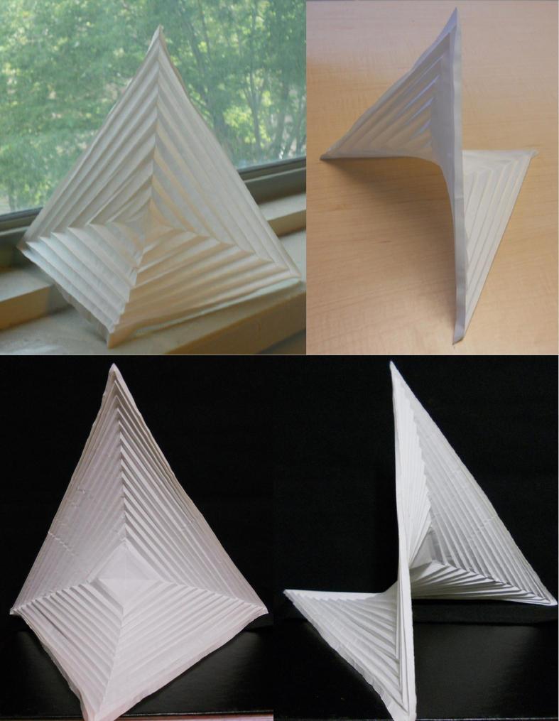 Hyperbolic Paraboloids by Kessukoofah
