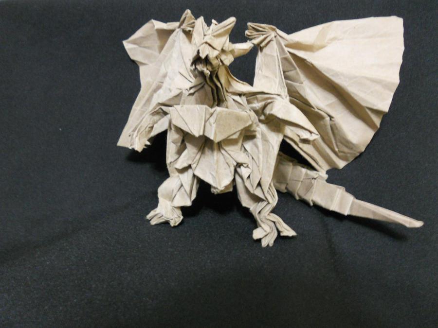 Divine Dragon Bahamut Take 1 by Kessukoofah