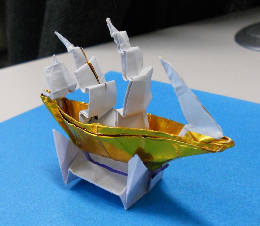 Full Rigged Ship by Kessukoofah