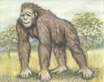 MtG Brontopithecus titan