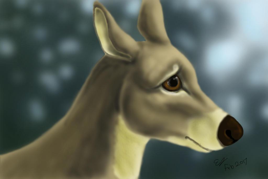 Deer by EquineEmma