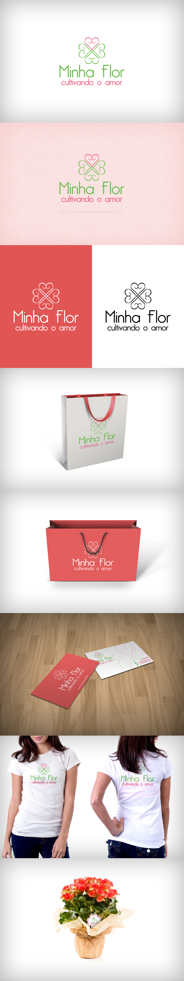 Branding Minha Flor by nilosadi
