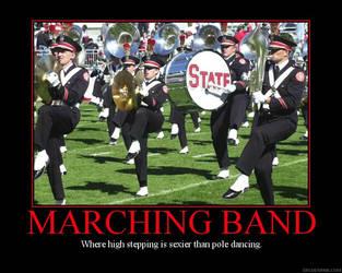 Marching Band Demotivator by Lady-Binx