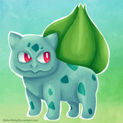 Quick Bulbasaur Painting