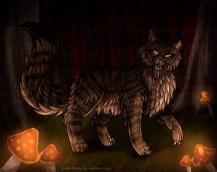 Tigerstar In The Dark Forest (+Speedpaint)