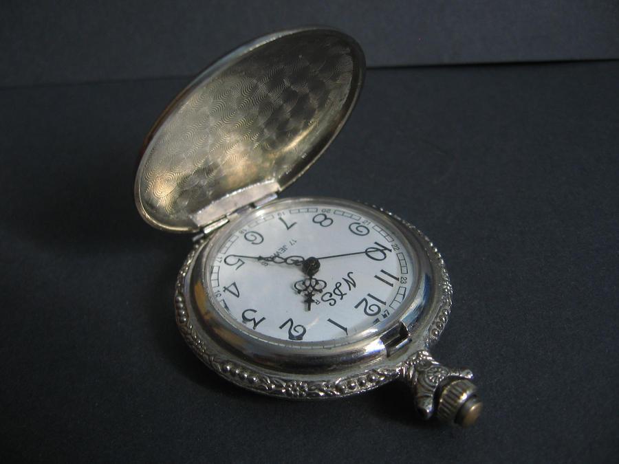 Clock I by Black-Ofelia-Stock