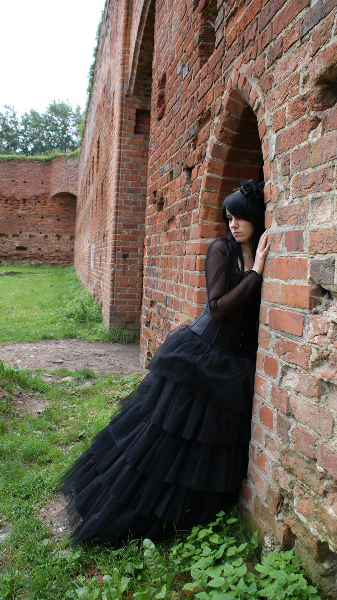 ...Gothic Queen VI... by Black-Ofelia-Stock