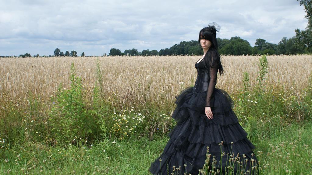 ...Gothic Queen XV... by Black-Ofelia-Stock
