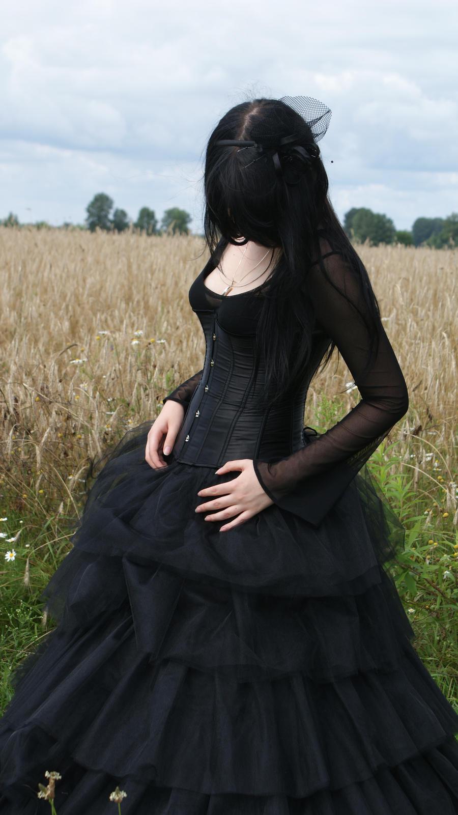 ...Gothic Queen XVII... by Black-Ofelia-Stock