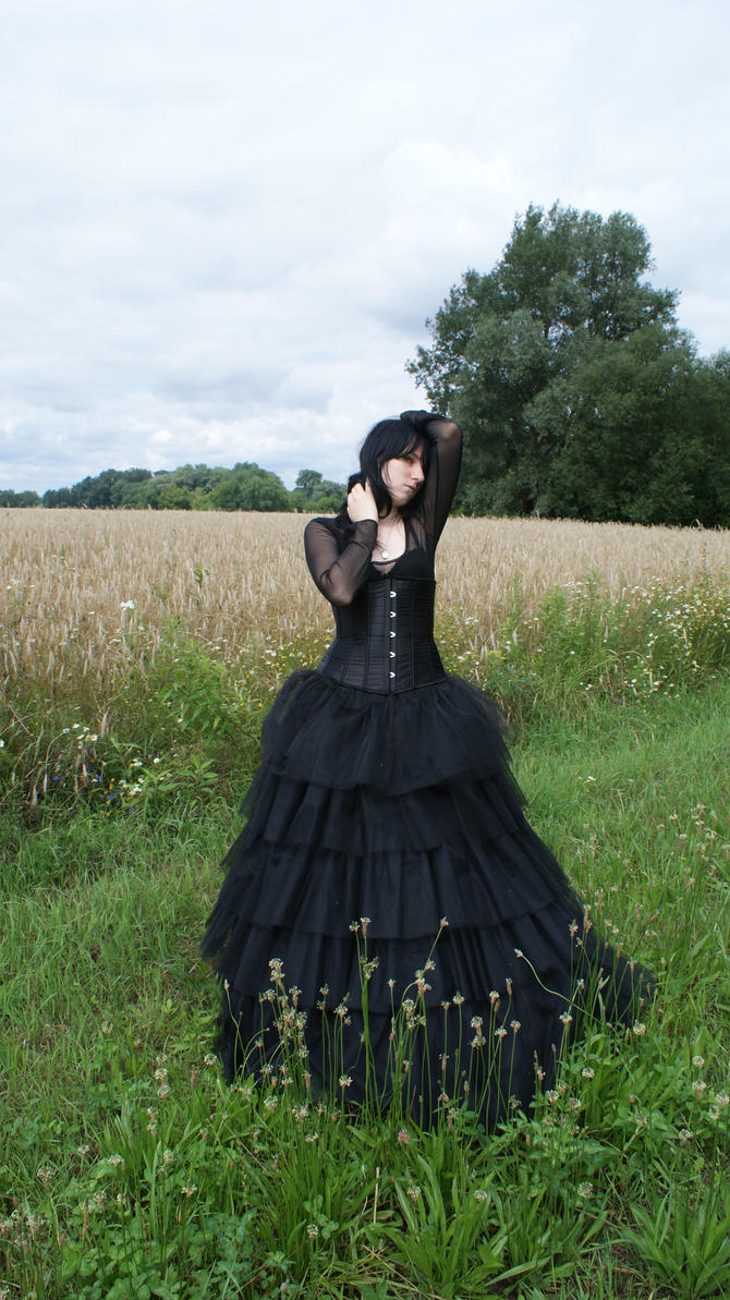 ...Gothic Queen XXI... by Black-Ofelia-Stock
