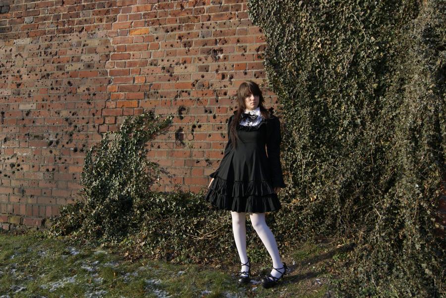 gothic lolita II by Black-Ofelia-Stock